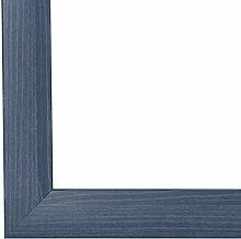 PN35 Bilderrahmen 30x110 cm in Schieferblau mit