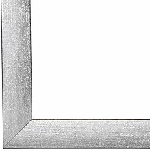 PN35 Bilderrahmen 50x65 cm in Grau gewischt