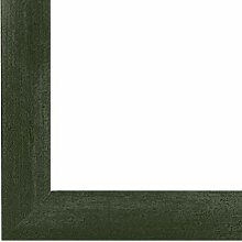 PN35 Bilderrahmen 50x70 cm in Grün gewischt mit