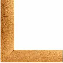 PN35 Bilderrahmen 60x80 cm in Gold gewischt