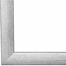 PN35 Bilderrahmen 60x80 cm in Grau gewischt mit