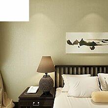 Po-Tapete Plain schwarze Vlies-Tapeten Amerikanische Schlafzimmer Wohnzimmer Tapete TV Wand Restaurant Hintergrundbild-C