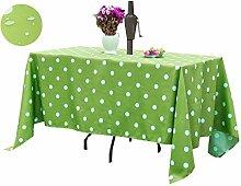 Poise3EHome Outdoor-Tischdecke, rechteckig, mit