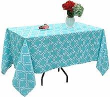 Poise3EHome rechteckige Outdoor-Tischdecke für