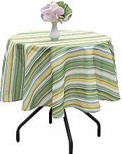 Poise3EHome Runde Tischdecke, für den Innen- und