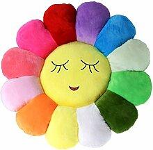 Poitemsis 38,1 cm Sonnenblumen-Bodenkissen für