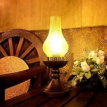 PoJu Kontinentale Retro Vintage Petroleumlampe