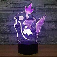 Pokemon 3D NachtlichtOptische Täuschung