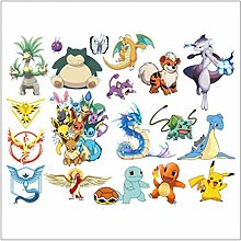 Pokemon Charaktere Wandaufkleber Cartoon Wandbild