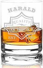 polar-effekt XXL Whiskyglas Personalisiert 420 ml