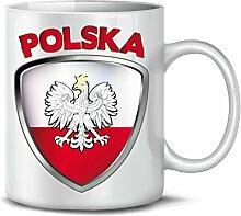 Polen Polska Poland Fan Artikel 4660 Fuss Ball