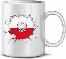Polen Polska Poland Fan Artikel 5774 Fuss Ball