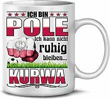 Polen Polska Poland Fan Artikel 6038 Fuss Ball