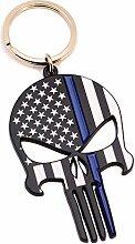 Police Officer Geschenk–dünn blau Line