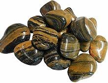 Polierte Kieselsteine Dekosteine 40kg von Aquagart