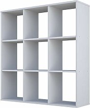 Polini Home Raumteiler Bücherregal Regal weiß 9
