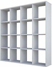 Polini Home Raumteiler Bücherregal Standregal