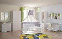 Polini Kids Babyzimmer Kinderzimmer komplett Set
