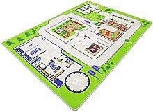 Polizei 110 HEVO® Spielteppich | Kinderteppich 137x190cm