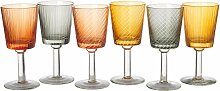 Pols Potten Wine Glass Library Glasset 6 Stück