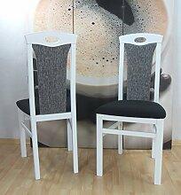 Polster-Stuhl Kasia 2er Se