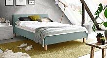 Polsterbett Bela, 120x200 cm, blau