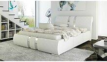 Polsterbett Bett Doppelbett AMARO 140x200cm