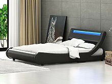 Polsterbett Kunstlederbett Doppelbett Bettgestell