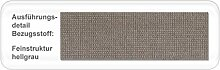 Polsterbett Larissa Kopfteil gesteppt Varianten Bettgestell Futonbett Doppelbett Singlebett Bett Schlafzimmer Jugendzimmer, Liegefläche:160 x 200 cm;Farbe:hellgrau