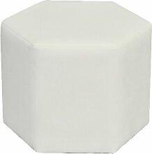 Polsterhocker Cube MONKEY MACHINE Polsterung: Weiß