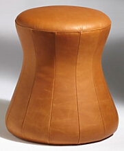 Polsterhocker Sitzkegel Löffler Fungo 2 Leder