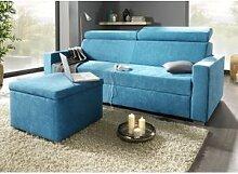 Polstermöbel mit Bettfunktion und verstellbaren
