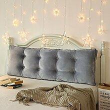 Polsterung aus dem bett Sofa soft bag Tatami bett kissen Zwei personen langes kissen Rückenlehne für bett Taille-H Durchmesser180cm(71inch)