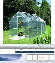 Polycarbonat Hohlkammerplatten 8 mm - klar - 7000 x 1050 x 8,0 mm (EUR 14,90/qm) Mindestberstellwert: Euro 100,00
