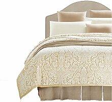 Polyester Beige Muster Einzel oder Doppel Einfache und moderne Heimtextilien Wolldecke 200 * 230cm