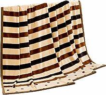 Polyester Braun Schwarz Gelb Streifen Einzel oder