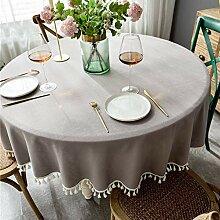 Polyester Rechteckige Tischdecke Für Urlaub, Zu