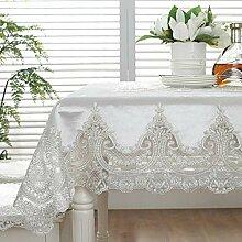 Polyester-Tischdecke Europäischer Luxus