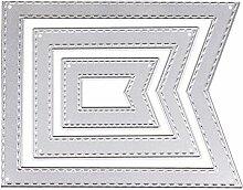 Polygon Stanzschablone Metall DIY Scrapbooking