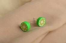 Polymer Clay Schmuck Handmade Ohrringe Geschenk
