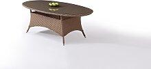 Polyrattan Esstisch Klassik 210 cm, oval -