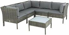 Polyrattan Garten-Lounge Set Rattan Sitzgruppe