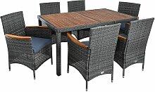 Polyrattan Gartenmöbel Tisch Stühle Rattanmöbel