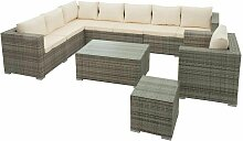 Polyrattan Lounge Gartenmöbel Set Sitzgruppe