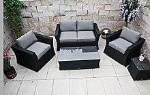 PolyRattan Lounge Set DEUTSCHE MARKE -- EIGNENE