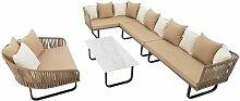Polyrattan Luxus Lounge Set Gartenmöbel
