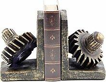 Polystein Gear Buchstütze, 7von 12,7cm, Set