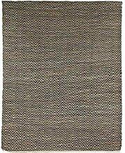 Pomax Teppich, Jute, Mehrfarbig, 200 X 140