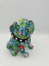 Pomme Pidou Spardose -Bulldogge mit Halsband -
