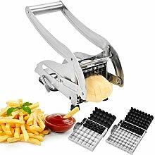 Pommesschneider,IKOCO Edelstahl Kartoffel Chip